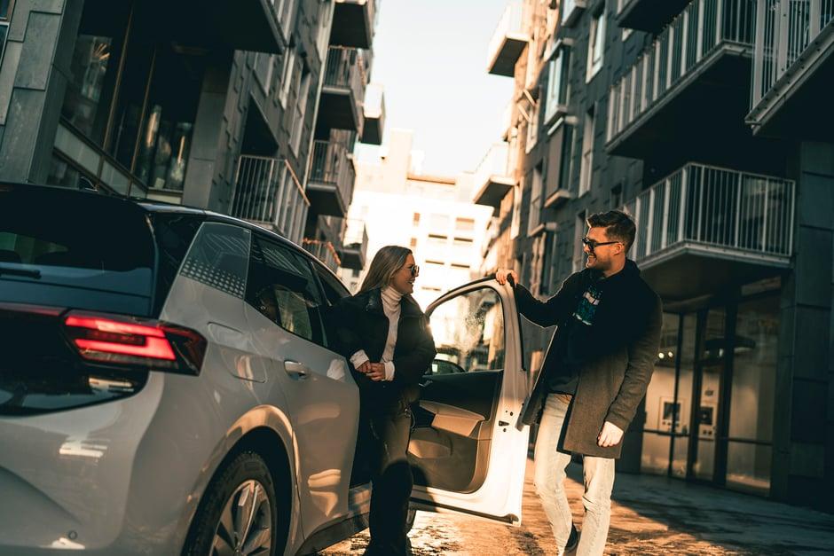 Volkswagen ID3 couple urban