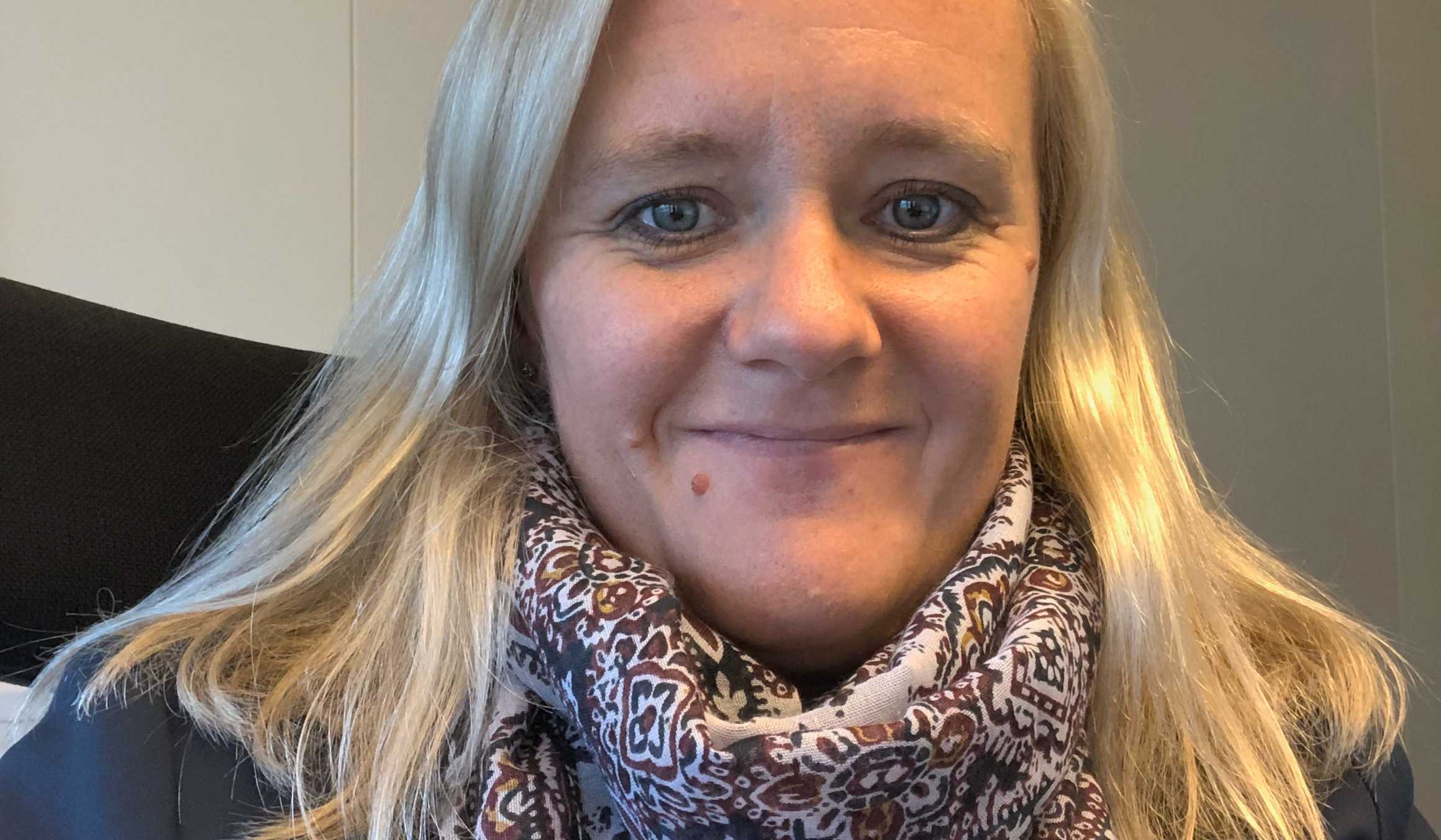 Kkonomisjef i Frydenbø Industri - Margrethe Gotteberg Nesse.